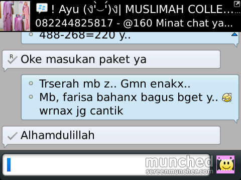 Customer respon by Ayu ({})