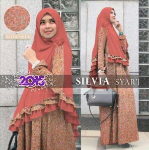 Silvia syari orange