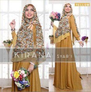 Kirana Yellow Busana Muslim