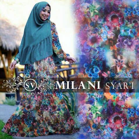 Milani Syar'i Biru
