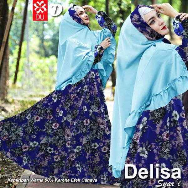 Delisa Syar'i Biru Murah