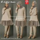 ELEANOR COKLAT MUDA SET