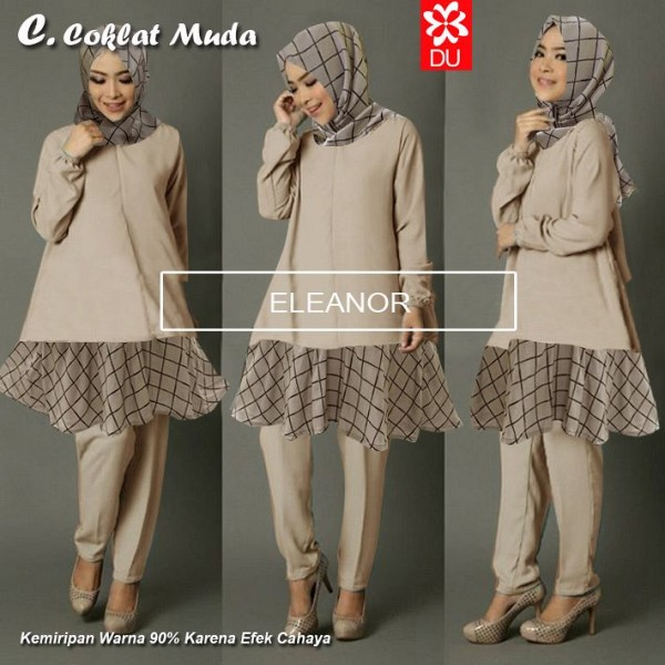 COKLAT MUDA ELEANOR