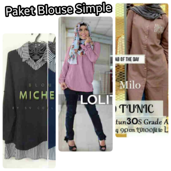 PAKET BLOUSE SIMPLE