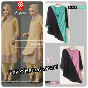 Paket Blouse Casual