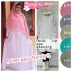 Paket Baju Muslim Trendy 3