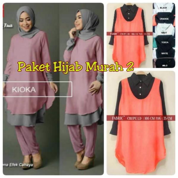 Paket hijab murah 2