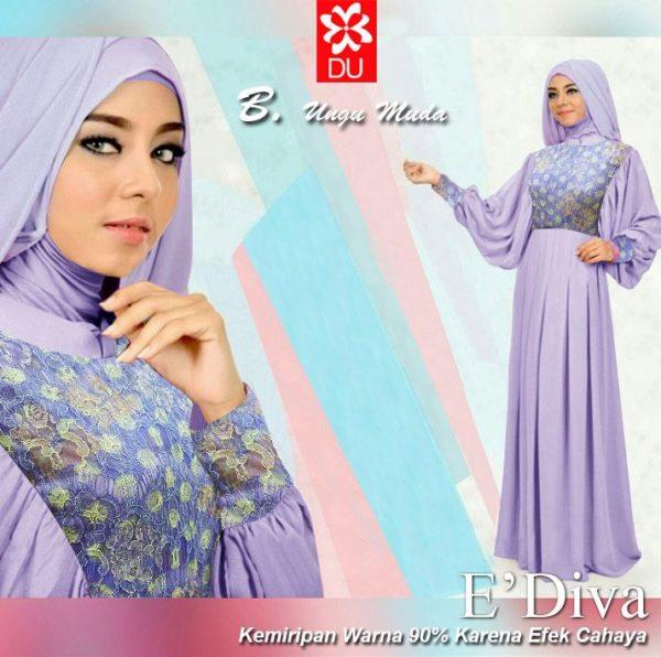 Esiva hijabers ungu