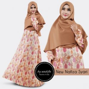 New Nafiza Syari Coklat