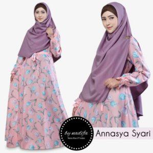 Annasya Syari Pink