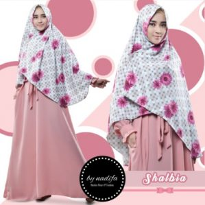 Shalbia Syari Pink