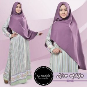 New Adifa Syari Purple