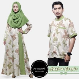 Saqina Couple Hijau