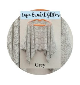 Cape Dafiya Grey
