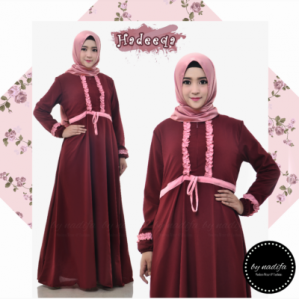 Hadeeqa Dress Marun