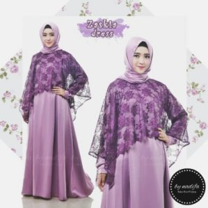 Zaskia Dress Lavender