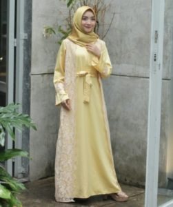 Zareen Dress Gold