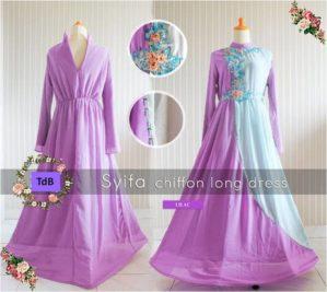 Syifa Chiffon Lilac