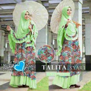 Talita Hijau Syari Online
