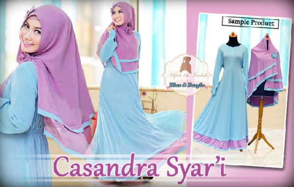 Casandra Gamis Syar'i