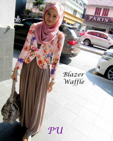 Paris Coklat Baju Muslim Modern