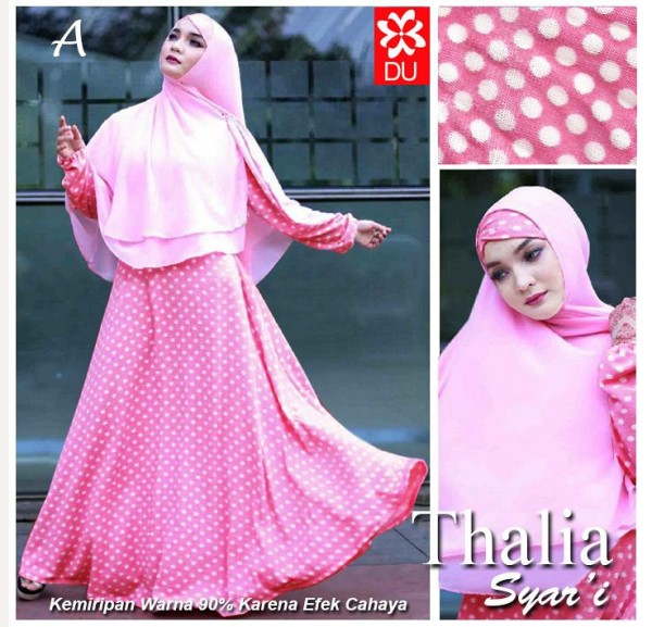 Supplier Thalia Syar;i Pink