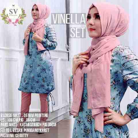Vinella Set Hijabers