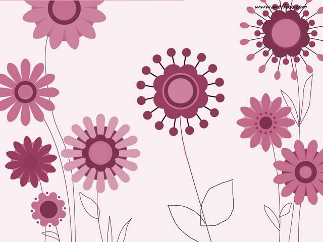 fun flowers pattern cute flowers in varying shades wallpaper 102782 min