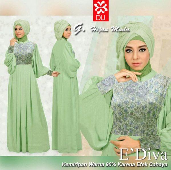 Ediva hijabers hijau