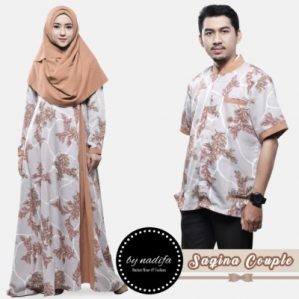 Saqina Couple Peach