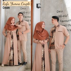 Baju Muslim Couple Yumna Coksu