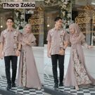 Baju Muslim Couple Thara Zakia Latte