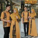 Baju Muslim Couple Thara Zakia Mustard